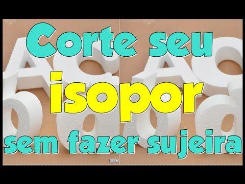Corte seu isopor sem fazer sujeira utilizando esta maquina de corte