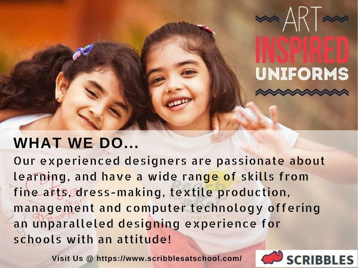 We are the best School uniform Manufacturers and Suppliers in Coimbatore, Chennai, Tamilnadu, Bangalore. Over 80 Schools Servicing and counting. https://www.scribblesatschool.com/