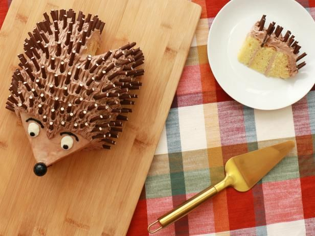 How to Make an Adorable Hedgehog Cake | Everyday Celebrations: Recipes for Easy Entertaining | Food Network