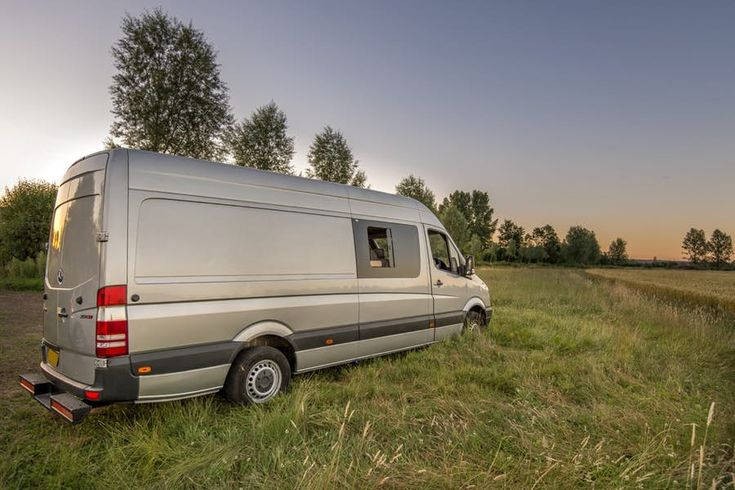The pair chose a used 2012 Mercedes Sprinter van for the conversion