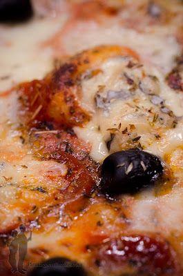 Pizza au chorizo et à la fourme d'Ambert | Piratage Culinaire