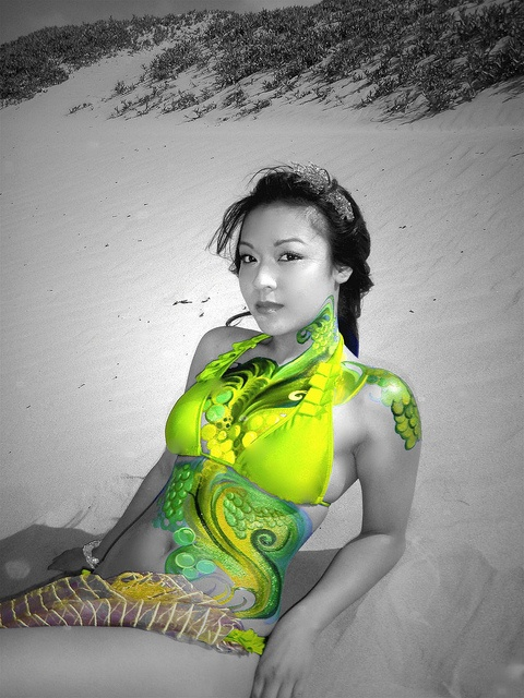 Seaskin By Munio Ink Body Paint Bodies And Body Paint Art