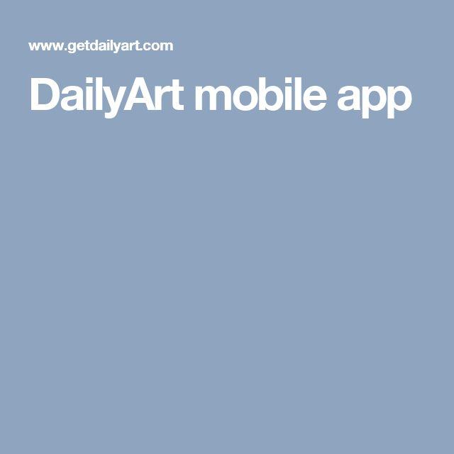 DailyArt mobile app