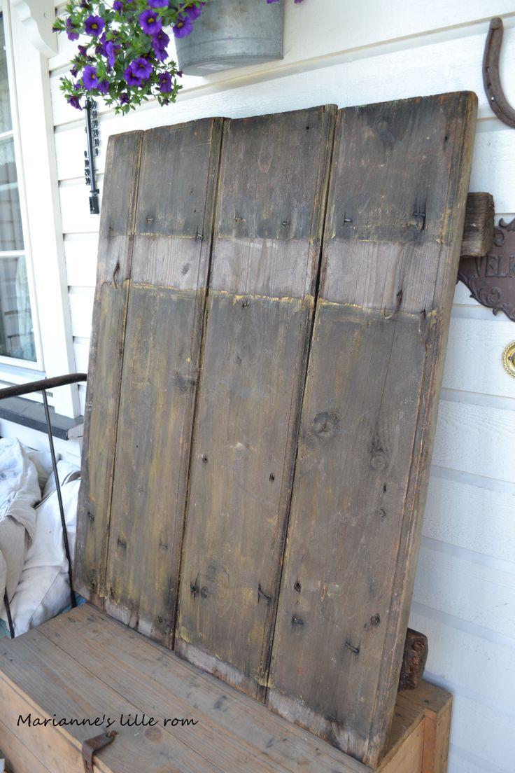 Old door - I'm in love.