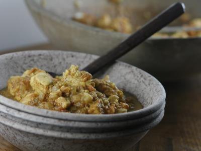 Pollo al curry al estilo del norte de la India