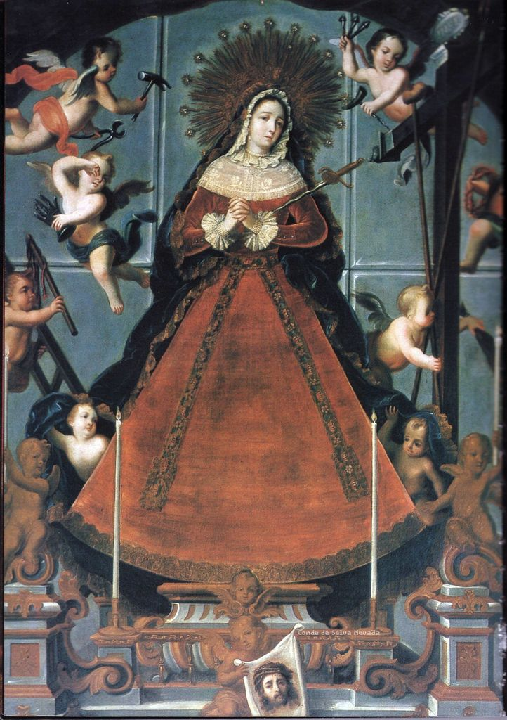 Virgen Dolorosa - Iglesia de los Jesuitas - México D. F.