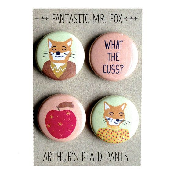 Birthday-- Fantastic Mr. Fox Fantastic Mr. Fox magnet by ArthursPlaidPants