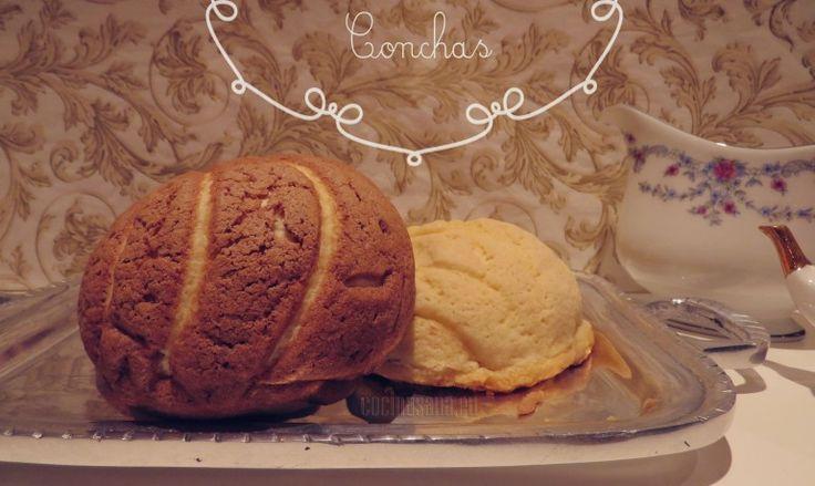 Tradicionales de la panadería Mexicana: Conchas