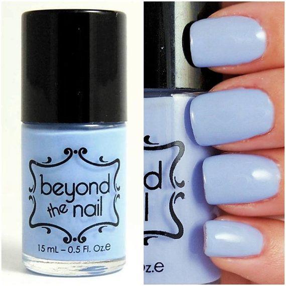 Spring Blue Creme Nail Polish by beyondthenail on Etsy, $9.00