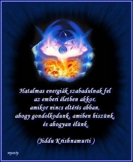 Jiddu Krishnamurti idézete az önismeretről. A kép készítője: Myszty