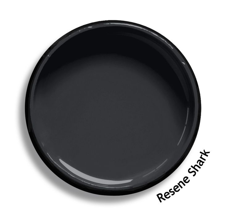 Resene Shark is a deep ebonised charcoal, formal and stylish. From the Resene Multifinish colour collection. Try a Resene testpot or view a physical sample at your Resene ColorShop or Reseller before making your final colour choice. www.resene.co.nz