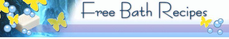 Free Bath Recipes