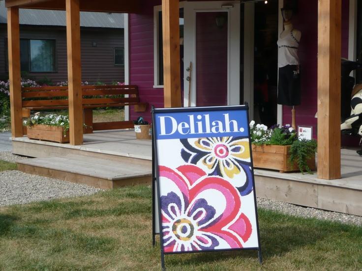 Delilah {in the Glebe}, 791 Bank Street, Ottawa, ON.