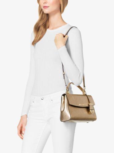 Petit sac à main Ava en cuir Saffiano | Michael Kors