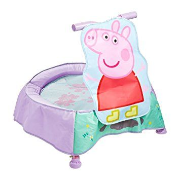 Peppa Pig Toddler Trampoline With Sounds - Multi-Colour