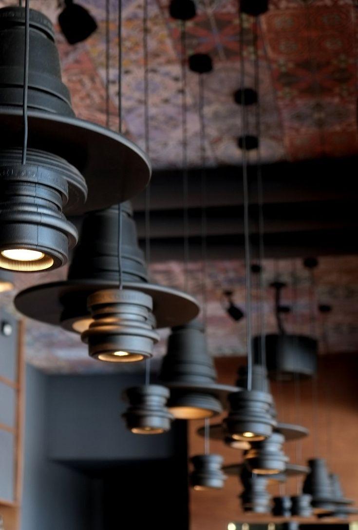 Tool Pendant By Diesel by FoscariniFunky Lamps, Lights Fixtures, Industrial Lighting, Industrial Lights, Industrial Black, Black Lights, Industrial Style, Pendants Lights, Design