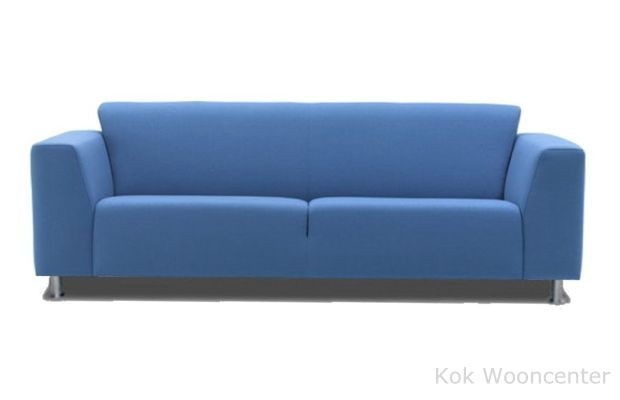 blauwe bank