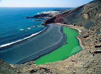 El Golfo Beach, Lanzarote Canary Islands
