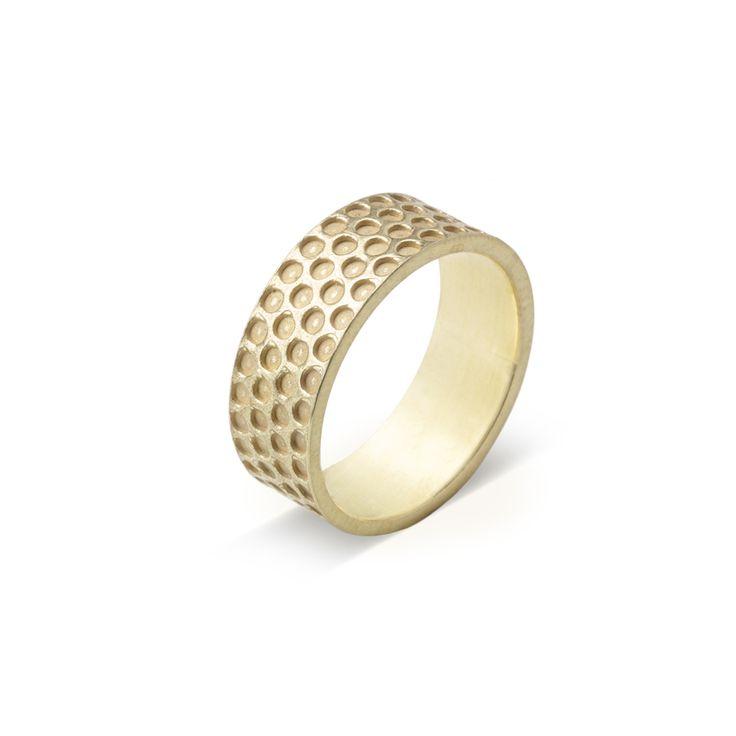 Prsten PRINTI repro gold