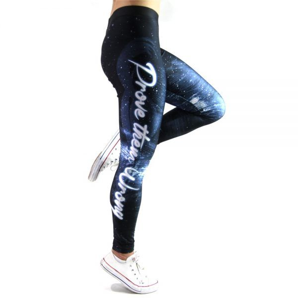PROVE THEM WRONG - Performance tech leggings.