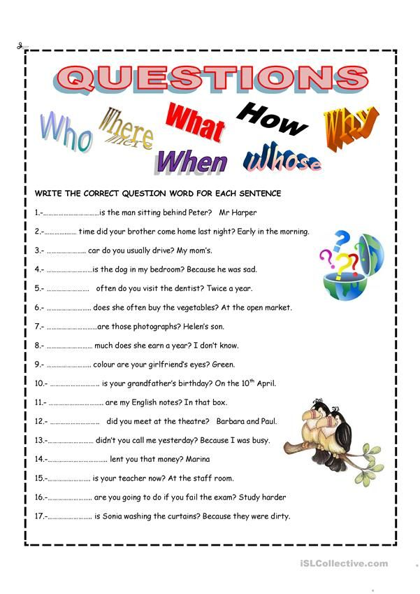 English Esl Worksheets For Home Learning And Physical Classrooms Ingles