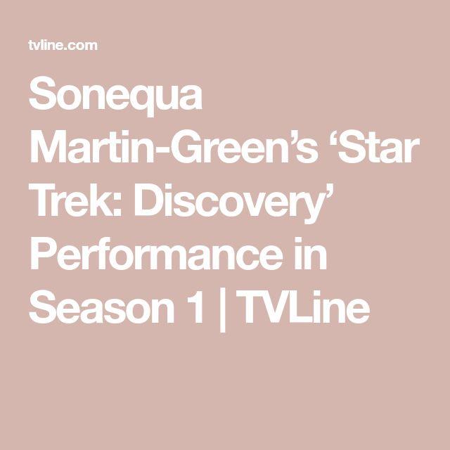 Sonequa Martin-Green's 'Star Trek: Discovery' Performance in Season 1 | TVLine
