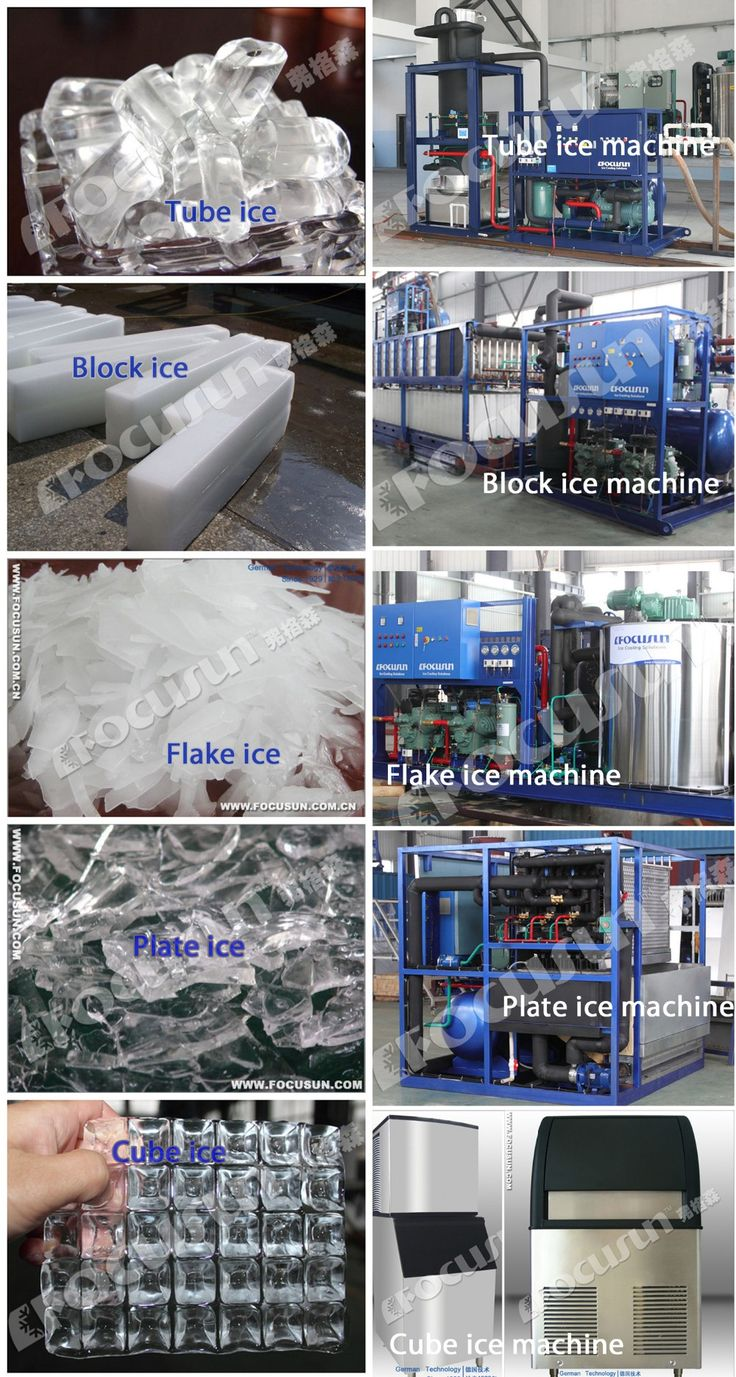 Focusun 15t Snow Making Machine With Ice Storage Room - Buy Snow Making Machine,Snow Maker,Ice Crusher Product on Alibaba.com