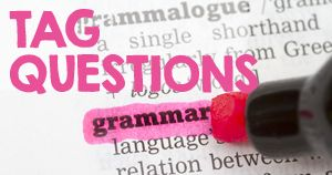 tag questions: . With let's, the tag question is shall we?   Let's go to the beach, shall we?  Let's have a coffee, shall we?  .With an imperative, the tag question is will you?   Close the window, will you? Hold this, will you?