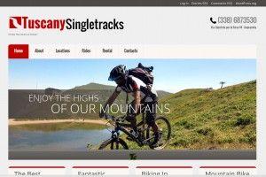 Tuscany Singletracks www.tuscanysingletracks.it Realizzazione siti web professionali, progetti e-commerce, web marketing e gestione social