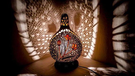 l'obtention du diplôme, Abschluss, Hochzeitsgeschenke, アンティークランプ Gourd lamps Turkish lamp shadow light gothic flowers bohemian furniture