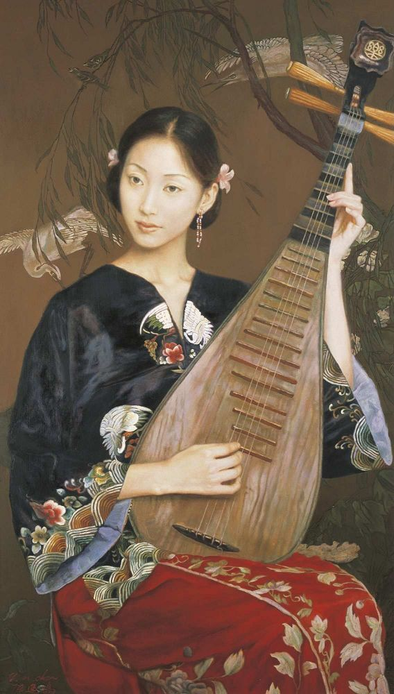 Chen Yifei (陳逸飛, 1946-2005) was a central figure in the development of Chinese…