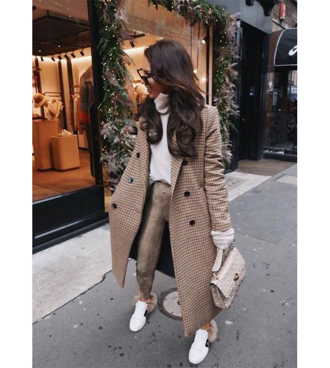 Nettoyer une veste en cuir beige