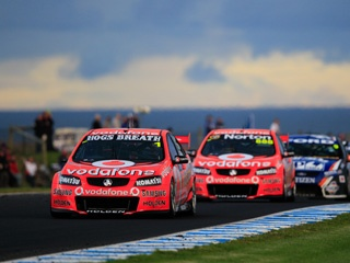 IN major V8 Supercar news, Triple Eight Race Engineering will lose the backing of Vodafone at the end of the 2012 V8 Supercars Championship.