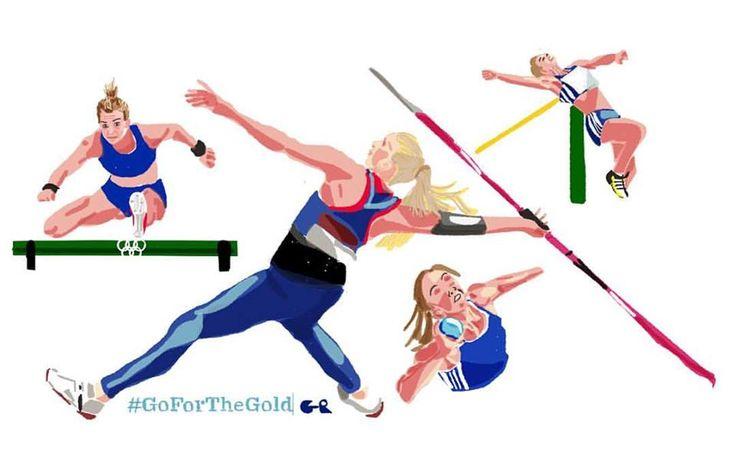 Sofia Ifantidou | Heptathlon  #TeamHellas_Rio2016 #OlympicGames2016