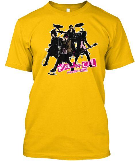 """NuRiss Gluta """"Punk Is Not Dead"""" P'UNK-En-Ciel T-shirts Mens & Womens http://teespring.com/p-unk-en-ciel-t-shirts-mens"""