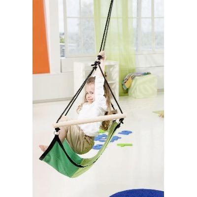 AZ 2030487 - Poltrona sospesa per bambini per interni e esterni - Kid's Swinger Green - Amazonas Baby - foto interni