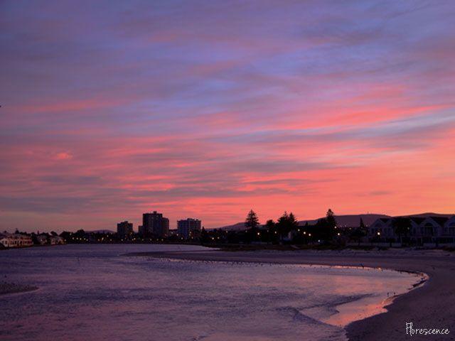 Sunrise over Milnerton Lagoon, Cape Town, (c) Floresence