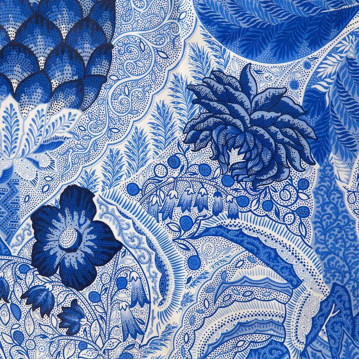 Mantel plastificado piñas azules - MANTELES Y SERVILLETAS - MESA | Zara Home España
