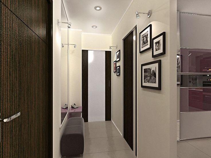 Дизайн проект прихожей в квартире в ЖК Эдальго (фото)