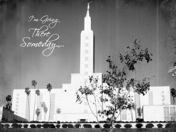 "amazing web site full of printable, vintage LDS temples that say ""I'm going there someday"""