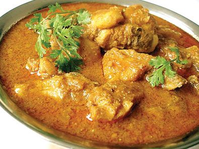 I love homemade Chicken Curry on a rainy day! It just makes me feel warm inside!