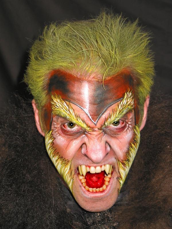 Evil Wolf Face 90 best images ...
