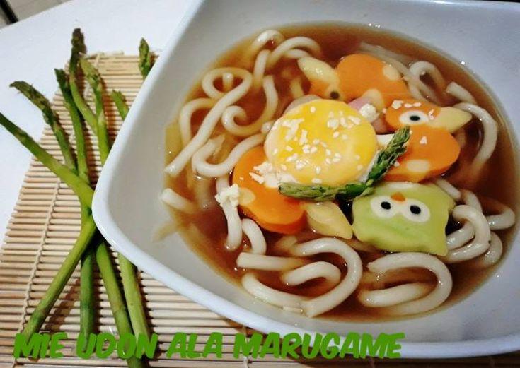 Resep Mie Udon Ala Marugame Medan Di 2020 Makanan Resep Restoran