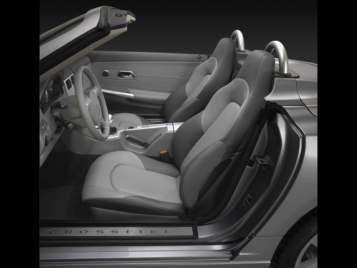 2005 Chrysler Crossfire Roadster - Seating - 1280x960 Wallpaper