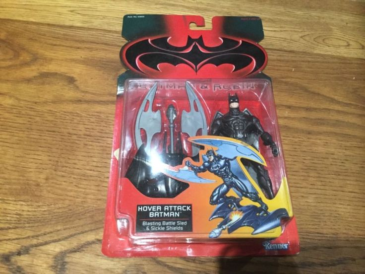 BATMAN AND ROBIN , ' HOVER ATTACK ' BATMAN ACTION FIGURE 1997 KENNER