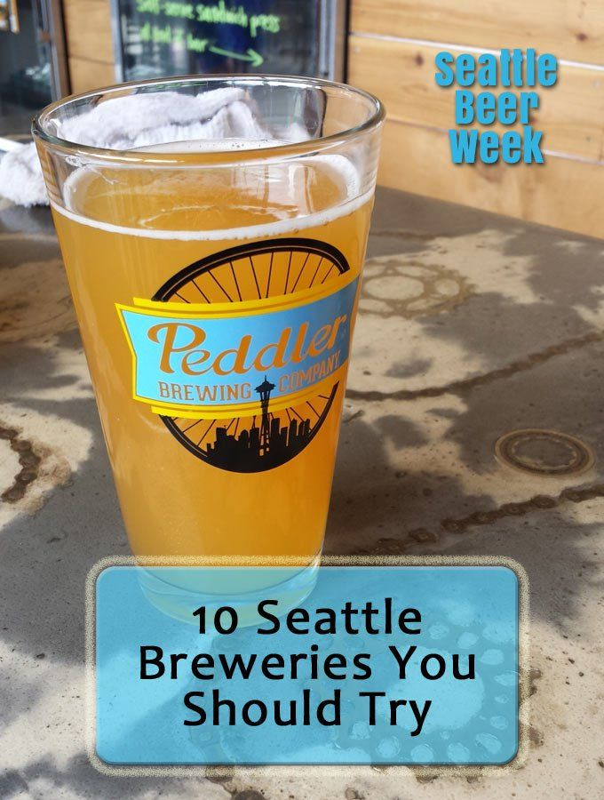 Are you a beer drinker. If so, don't miss these 10 breweries when you travel to Seattle, Washington.