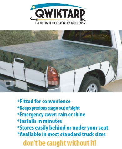 Qwiktarp Pick Up Truck Bed Covers And Adjustable Bungees