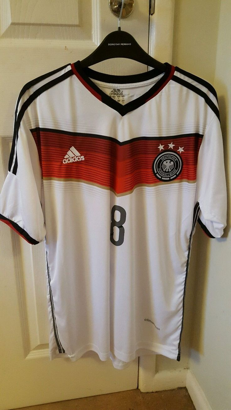 2013 to 15 - #adidas #germany home shirt ozil 8. size xl. euro 2016 #france,  View more on the LINK: 	http://www.zeppy.io/product/gb/2/192036384670/