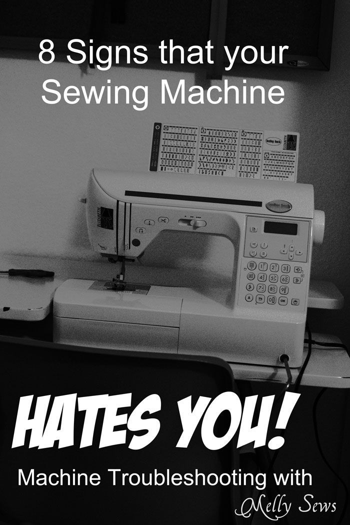 Signs your sewing machine secretly hates you how to