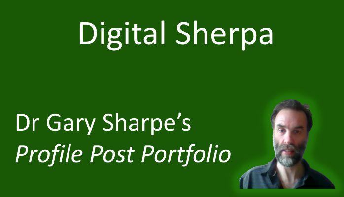 Digital Sherpa. #ATsocialmedia